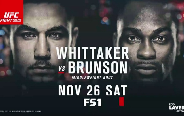 UFC Fight Night 101: Whittaker vs. Brunson Results From Melbourne ...