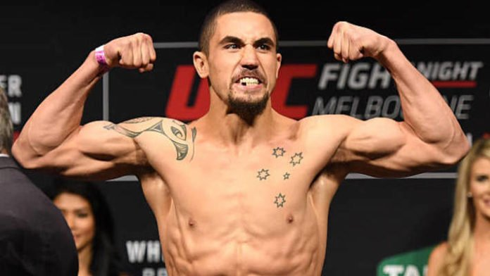Robert Whittaker Weigh-in