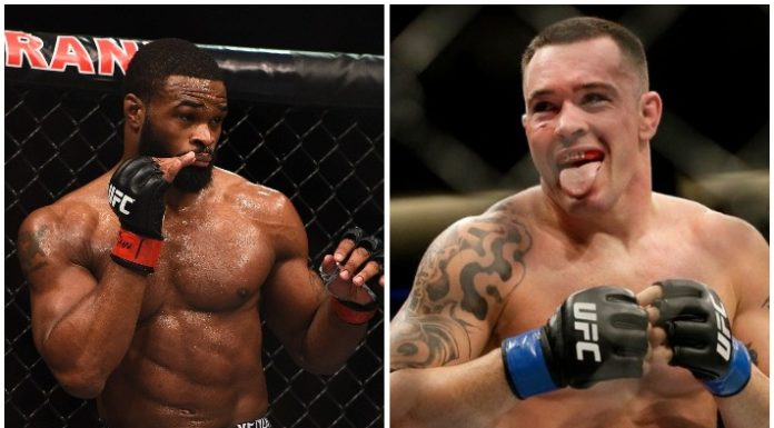 Tyron Woodley vs Colby Covington