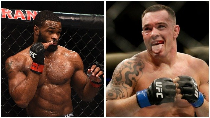 Tyron Woodley Colby Covington Want To Fight At Ufc 249